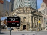 Share the message with Hockey Fans in Toronto at the Hockey Hall of Fame