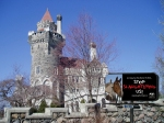 A great message for Casa Loma castle in Toronto