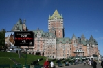 Chateau Frontenac in Quebec City - they serve horse in this town