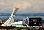 At the Big O - the Stade Olympique in Montreal....site of the `76 Olympics