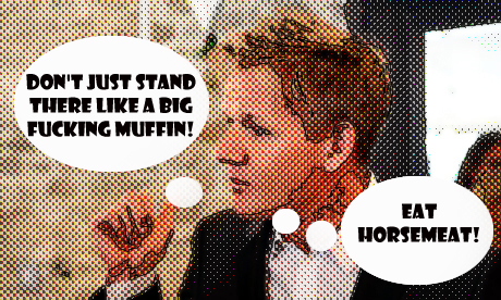 Gordon Ramsay has long promoted horsemeat to Britons