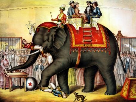 JUNKMILLBigTop elephant