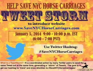 Anti-animal Cavalry Group tweetstorm