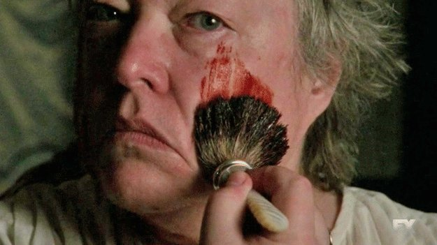 Madame Delphine LaLaurie is a character in American Horror Story: Coven portrayed by Kathy Bates.